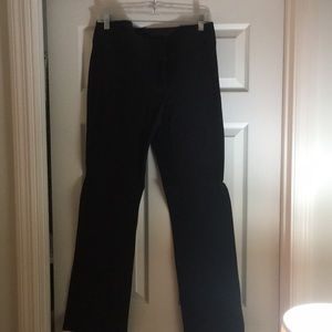 Loft black dress pants size 8 barely worn